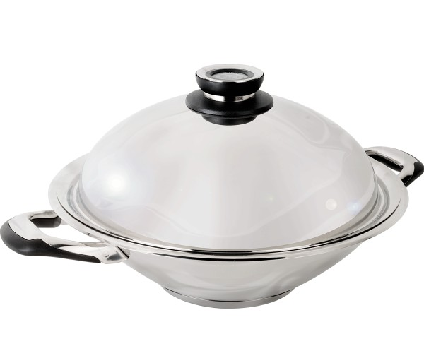 wok inox induction