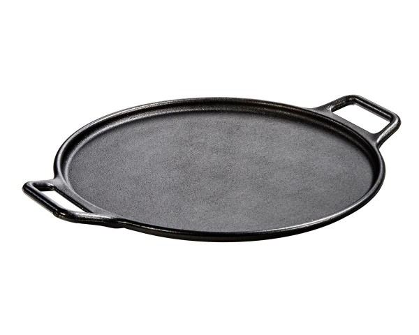 plaque de cuisson en fonte naturelle ronde lodge
