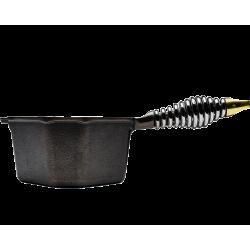 casserole saucier fonte