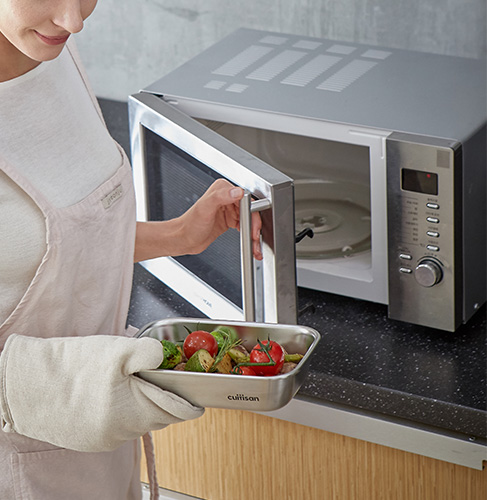 boite inox four traditionnel