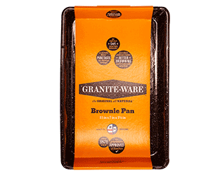 plat brownie graniteware