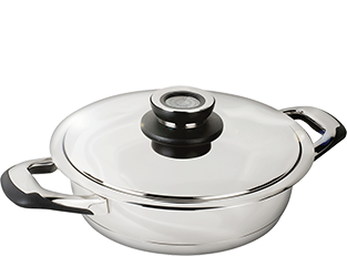 sauteuse inox induction 24 cm
