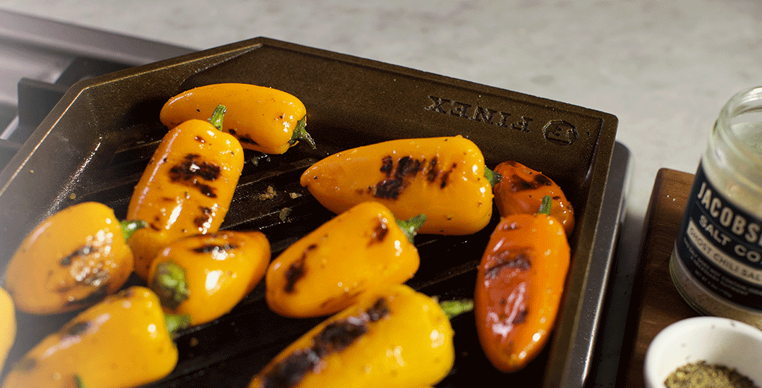 cuisson plaque grill en fonte