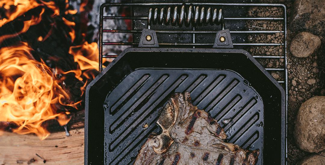 plaque grill fonte