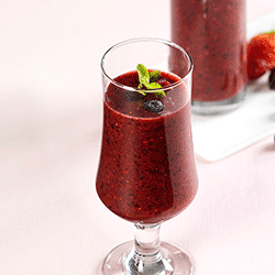 smoothie fruit rouge
