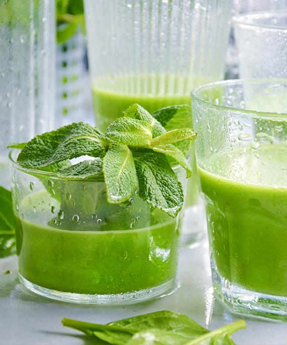 recette jus legumes verts
