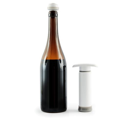 bouteille en verre sous vide
