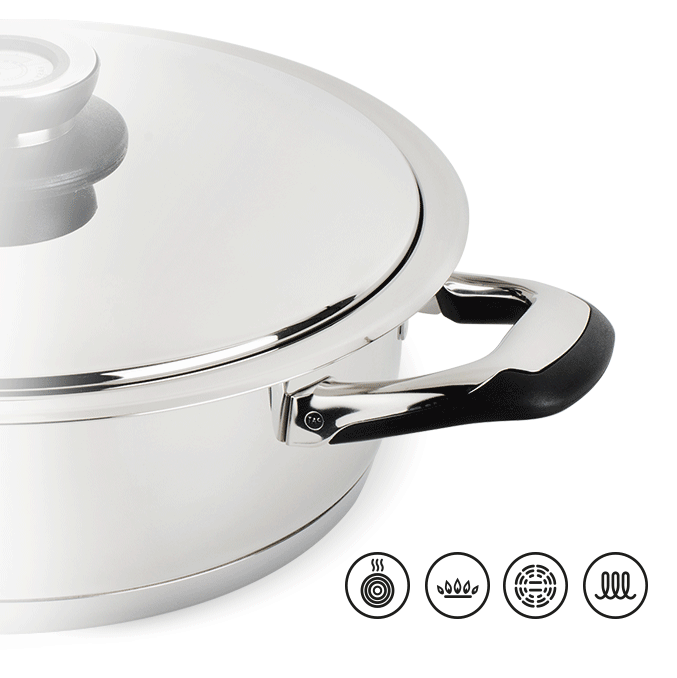 sauteuse inox induction