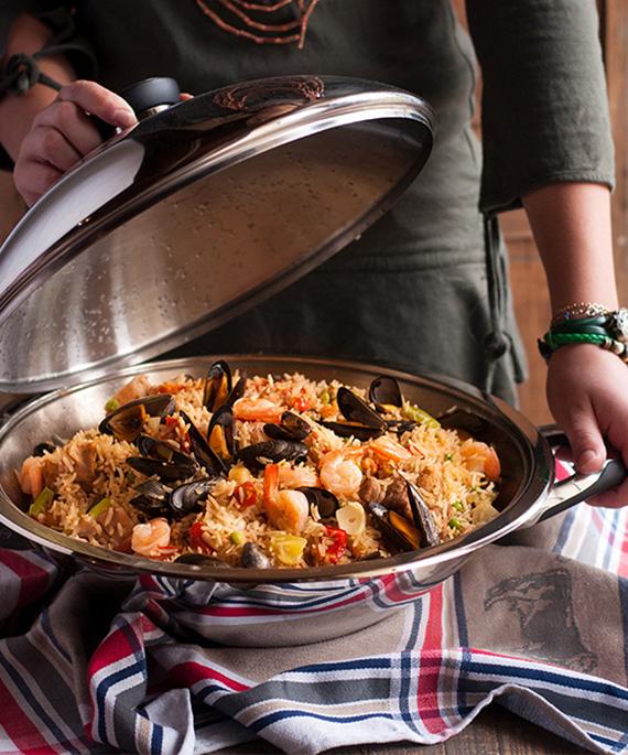 recette wok inox